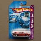 Hot Wheels 2008 Team Muscle Mania '68 Plymouth HEMI Barracuda (orange)