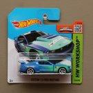 Hot Wheels 2015 HW Workshop Custom '12 Ford Mustang (blue)