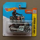 Hot Wheels 2015 HW Off-Road Harley-Davidson Fat Boy (black) (SEE CONDITION)
