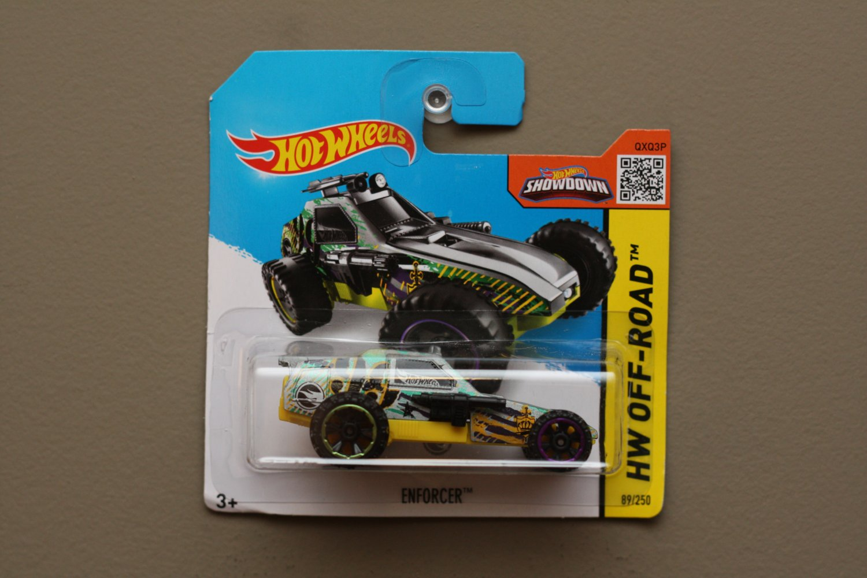 Hot Wheels 2015 HW Off-Road Enforcer (grey) (Treasure Hunt) (SEE CONDITION)
