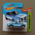 Hot Wheels 2015 HW Workshop '70 Ford Escort RS1600 (blue) (Fast & Furious)