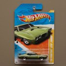 Hot Wheels 2011 New Models '70 Pontiac GTO Judge (green)