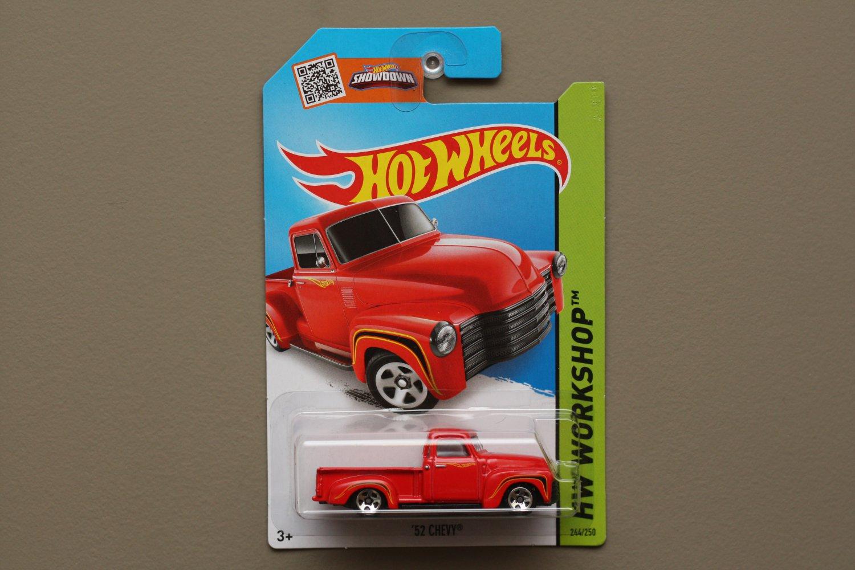 Hot Wheels 2015 HW Workshop '52 Chevy (red)