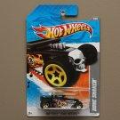 Hot Wheels 2011 HW Video Game Heroes Bone Shaker (black)