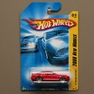 Hot Wheels 2008 New Models '07 Shelby GT-500 (red)