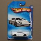 Hot Wheels 2009 Dream Garage Lamborghini Murcielago (white) (SEE CONDITION)