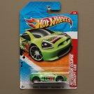 Hot Wheels 2011 Thrill Racers Raceway Mitsubishi Eclipse Concept Car (green)