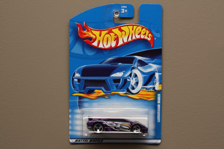 Hot Wheels 2001 Collector Series Lamborghini Diablo Purple