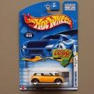 Hot Wheels 2002 First Editions 2001 Mini Cooper (yellow) (5-spoke wheel variation)
