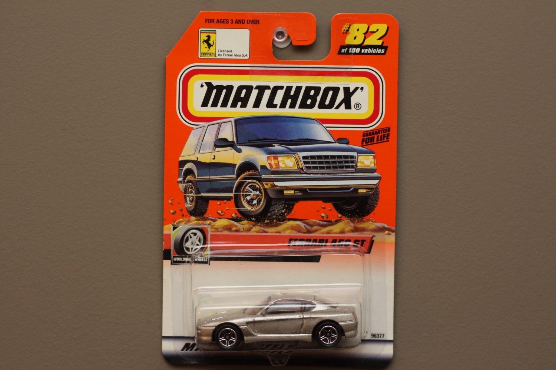 Matchbox 2000 Series 17 Ferrari 456 GT (silver) (Logo Car)