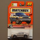 Matchbox 2000 Series 17 Ferrari 456 GT (silver) (Logo Car)