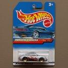 Hot Wheels 1999 X-Treme Speed Series Porsche Carrera (silver)