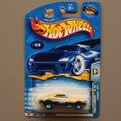 Hot Wheels 2003 Wastelanders '67 Camaro (yellow)