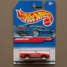 Hot Wheels 1999 Sugar Rush Series II Jaguar XK8 (red)