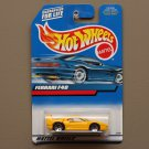 Hot Wheels 2000 Collector Series Ferrari F40 (yellow)