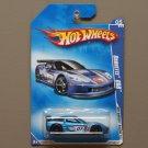 Hot Wheels 2009 HW Racing Corvette C6R (blue)