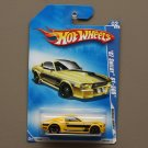 Hot Wheels 2009 Muscle Mania '67 Shelby GT-500 (yellow)