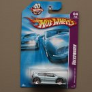 Hot Wheels 2008 Team Volkswagen VW Golf GTI (pearlescent blue)