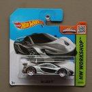 Hot Wheels 2015 HW Workshop McLaren P1 (silver)