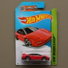 Hot Wheels 2015 HW Workshop '90 Acura NSX (red) (SEE CONDITION)