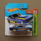 Hot Wheels 2015 HW Workshop '65 Ford Mustang 2+2 Fastback (blue)