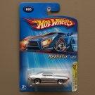 Hot Wheels 2005 First Editions (Realistix) '69 Pontiac Firebird T/A (silver)