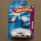 Hot Wheels 2008 Team Engine Revealers '57 Chevy Bel Air (white)