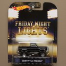 Hot Wheels 2015 Retro Entertainment Chevy Silverado (Friday Night Lights)
