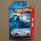 Hot Wheels 2007 Code Cars AMG Mercedes CLK DTM (silver)