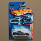 Hot Wheels 2004 Ferrari Heat Ferrari 550 Maranello (black)