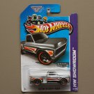 Hot Wheels 2013 HW Showroom Custom '69 Chevy Pickup (ZAMAC silver - Walmart Excl.) (SEE CONDITION)