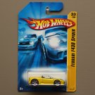 Hot Wheels 2006 First Editions Ferrari F430 Spider (yellow)