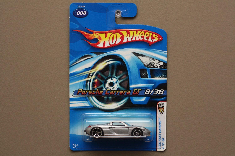 Hot Wheels 2006 First Editions Porsche Carrera GT (silver)