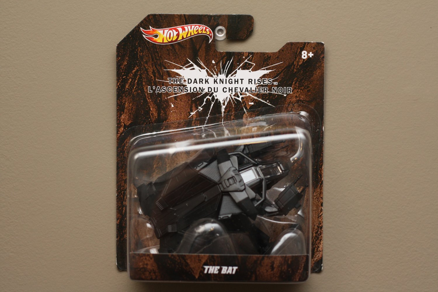Hot Wheels 2012 Batman (1:50 Scale) The Bat (Batmobile)