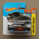 Hot Wheels 2015 HW Off-Road 2008 Mitsubishi Lancer Evolution (black)