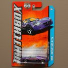 Matchbox 2013 MBX Adventure City Opel Speedster (purple)