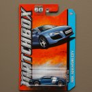 Matchbox 2013 MBX Adventure City Audi R8 (blue)