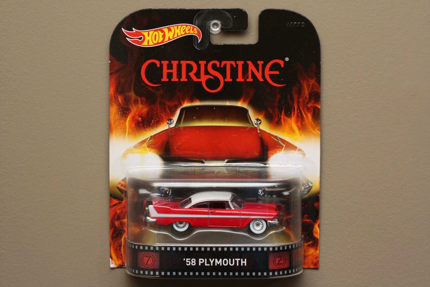 Hot Wheels 2015 Retro Entertainment '58 Plymouth Belvedere (Christine)