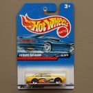 Hot Wheels 2000 Seein' 3-D Series Lexus SC400 (yellow)
