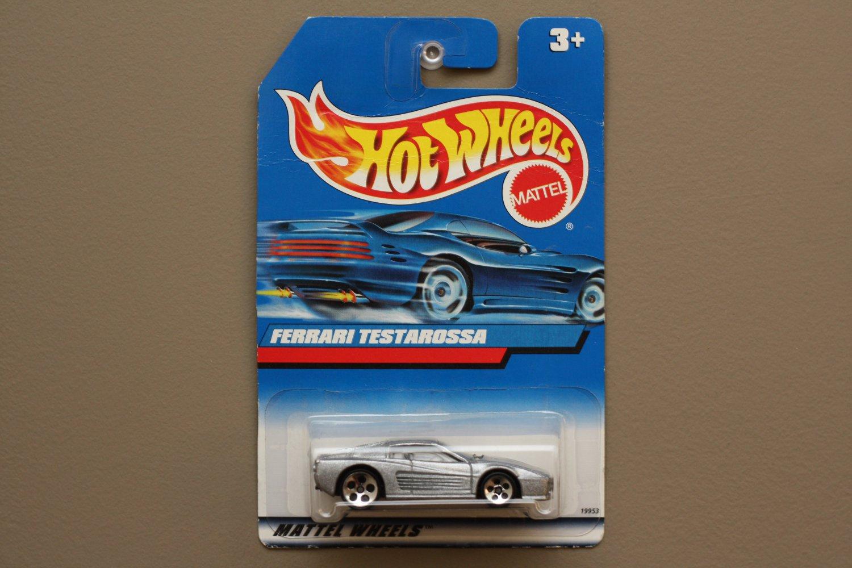 Hot Wheels 1998 Collector Series Ferrari F512M Testarossa (silver) (SEE CONDITION)