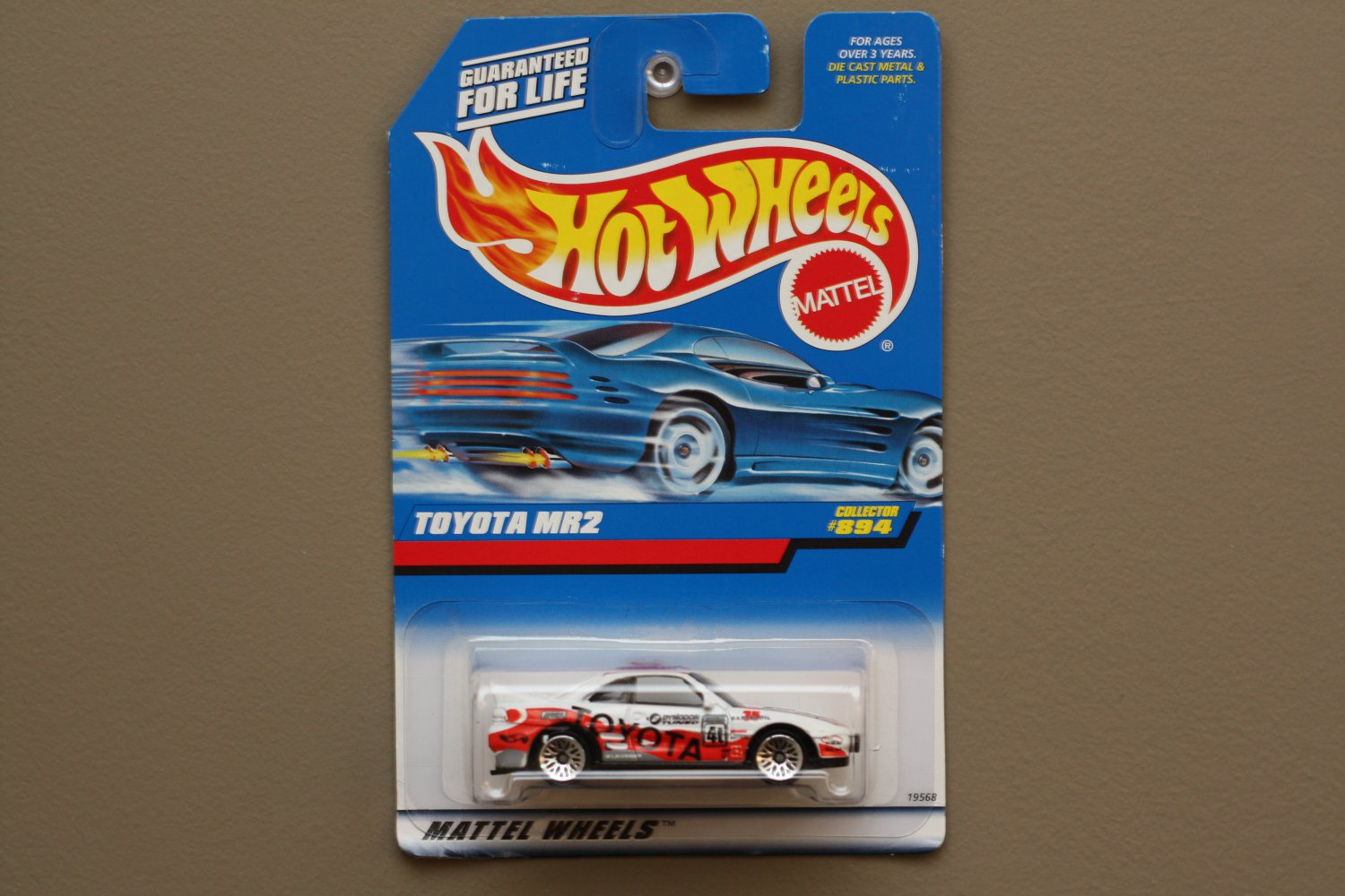 Hot Wheels 1998 Collector Series Toyota MR2 (white)