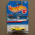 Hot Wheels 1998 First Editions Mercedes SLK (yellow)