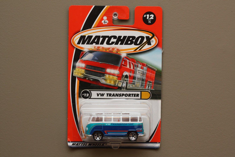 Matchbox 2000 Hiway Heroes Volkswagen Transporter (white/blue)