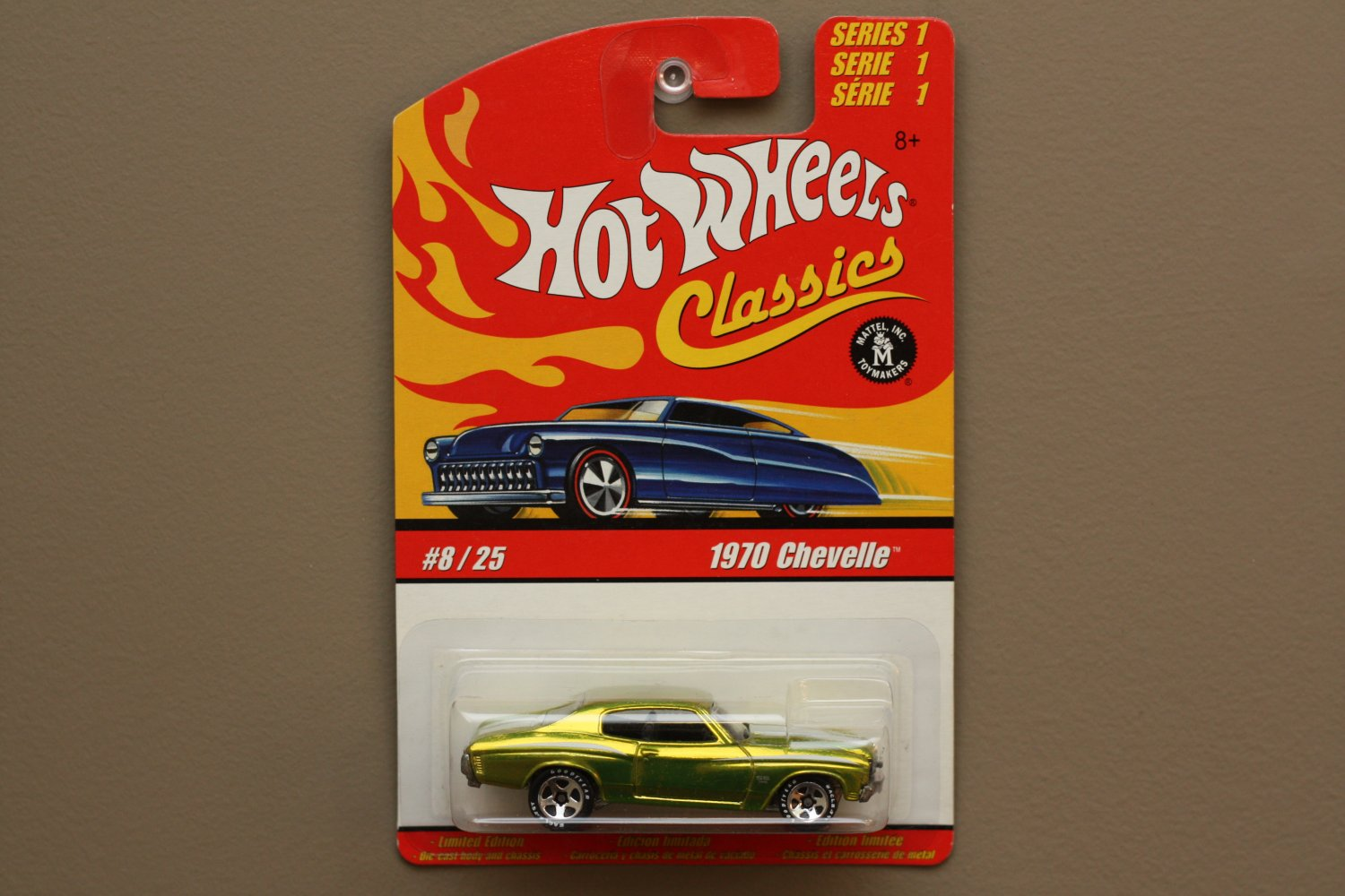 Hot Wheels 2005 Classics Series 1 '70 Chevelle (lime green)