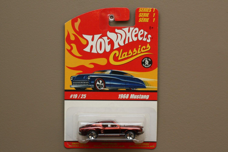 Hot Wheels 2005 Classics Series 1 '68 Mustang (bronze)