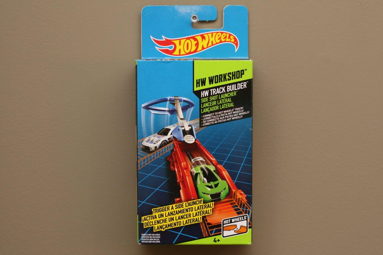 Hot Wheels 2014 HW Workshop Track Builder Side Shot Launcher
