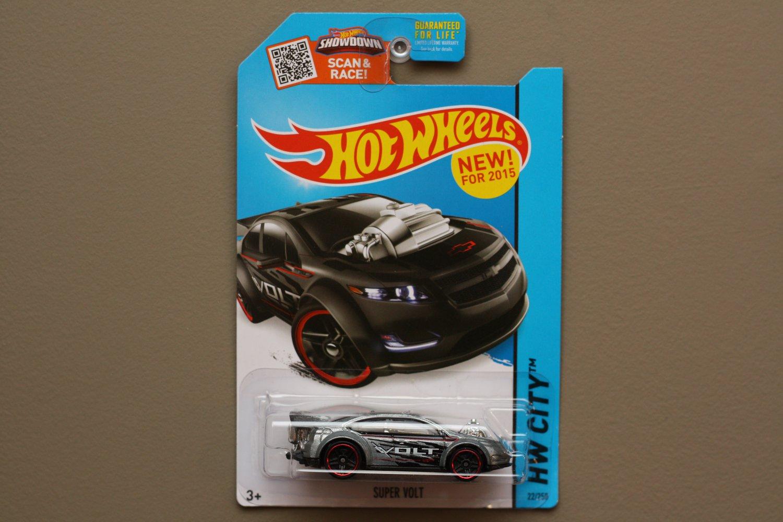 Hot Wheels 2015 HW City Chevrolet Super Volt (silver)