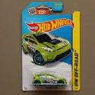 Hot Wheels 2015 HW Off-Road '12 Ford Fiesta (green)