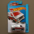 Hot Wheels 2015 HW City Super Van (ZAMAC silver - Walmart Excl.) (SEE CONDITION)