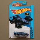 Hot Wheels 2015 HW City Batman Live! Batmobile (navy blue)